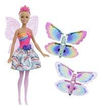 Barbie poupée mannequin Dreamtopia Fée avec des ailes virevoltantes-Avant