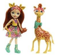 Enchantimals figuur Gillian Giraphe-Vooraanzicht