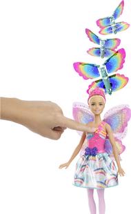 Barbie poupée mannequin Dreamtopia Fée avec des ailes virevoltantes-Image 1