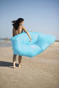 Sunvibes opblaasbare loungezetel Travel Lounger grijs-Afbeelding 2