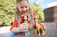 Enchantimals figurine Gillian Giraphe-Image 2