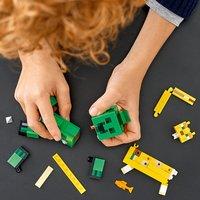 LEGO Minecraft 21156 Bigfigurine Creeper et ocelot-Image 7