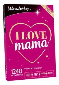 Wonderbox I love Mama-Linkerzijde