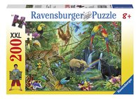 Ravensburger puzzle Animaux de la jungle-Avant
