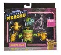 Pokémon Detective Pikachu multipack 6 figuren-Vooraanzicht