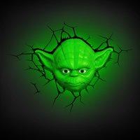 3DLightFX muurlamp Star Wars Yoda-Afbeelding 1