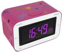 Bigben wekkerradio RR30 Sticker roze-Bovenaanzicht