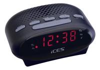 iCES radio-réveil ICR-210 noir