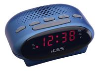iCES radio-réveil ICR-210 bleu