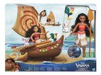 Speelset Disney Vaiana met boot-Vooraanzicht
