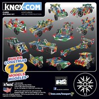 K'nex Cars-Vooraanzicht