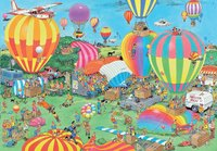 Jumbo puzzel Jan Van Haasteren Het ballon festival-Vooraanzicht