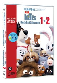 Dvd The Secret Life of Pets 1&2-Linkerzijde