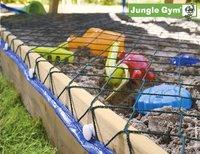 Jungle Gym houten speeltoren Club met gele glijbaan-Artikeldetail