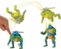 Rise of the Teenage Mutant Ninja Turtles actiefiguur Back Flip Ninja Attack Leonardo-Afbeelding 1