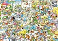 Jumbo puzzel Jan Van Haasteren De vakantiebeurs-Vooraanzicht