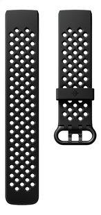 Fitbit bracelet sport pour Charge HR 3 L noir-Avant