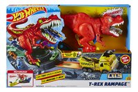 Hot Wheels circuit acrobatique T-Rex Rampage