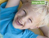 Jungle Gym houten speeltoren Palace met gele glijbaan-Artikeldetail