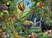 Ravensburger puzzle Animaux de la jungle-Détail de l'article
