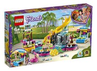 LEGO Friends 41374 Andrea's zwembadfeest-Linkerzijde