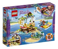 LEGO Friends 41376 Schildpadden reddingsactie-Linkerzijde