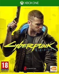 Xbox One Cyberpunk 2077 Day One Edition FR-Avant