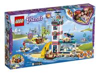 LEGO Friends 41380 Reddingscentrum in de vuurtoren-Linkerzijde