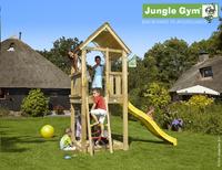 Jungle Gym tour de jeu en bois Club avec toboggan jaune