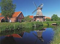 Ravensburger puzzel Oost-Friese windmolen-Vooraanzicht