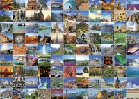 Ravensburger puzzel 99 mooie plekken op aarde-Vooraanzicht