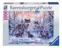Ravensburger puzzel Arctische wolven-Vooraanzicht