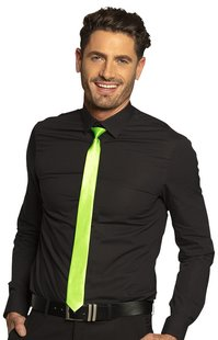 Cravate brillante fluo-Image 4