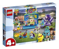 LEGO Toy Story 4 10770 Kermismania van Buzz en Woody-Linkerzijde