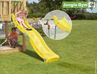 Jungle Gym houten speeltoren Club met gele glijbaan-Afbeelding 2
