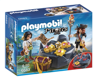 Playmobil Pirates 6683 Pirates et trésor royal