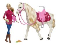Barbie set de jeu Dreamhorse-commercieel beeld
