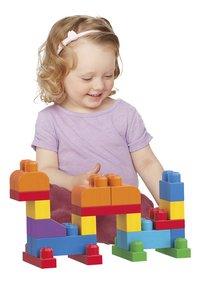 Mega Bloks First Builders Big Building Bag - 60 stuks-Afbeelding 1