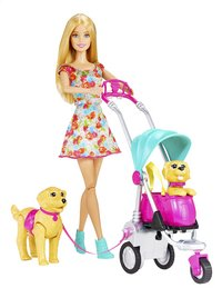 Barbie set de jeu Strollin' Pups