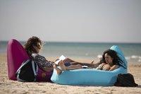 Sunvibes opblaasbare loungezetel Travel Lounger fuchsia-Artikeldetail