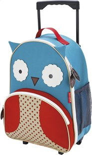 Skip*Hop valise souple Zoo Luggage hibou-Avant