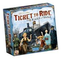 Ticket to Ride Rails & Sails-Linkerzijde