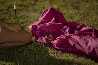 Sunvibes opblaasbare loungezetel Travel Lounger turkoois-Artikeldetail