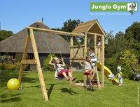 Jungle Gym portique avec tour de jeu Club et toboggan jaune
