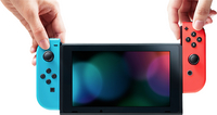 Nintendo Switch console rood/blauw + shop card 35 euro-Afbeelding 1