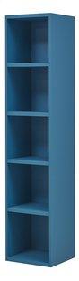 Boekenkast Babel blauw-Rechterzijde