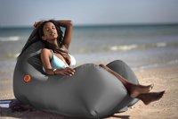 Sunvibes opblaasbare loungezetel Travel Lounger grijs-Afbeelding 1
