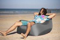 Sunvibes opblaasbare zetel Travel Chair grijs-Afbeelding 1
