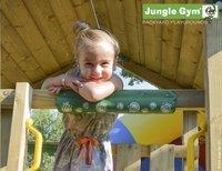 Jungle Gym houten speeltoren Club met gele glijbaan-Afbeelding 4