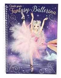 Kleurboek TOPModel Create your Fantasy Ballerina-Vooraanzicht